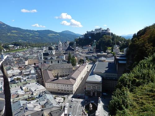 Salzburg - vanaf Moenchsberg - 1