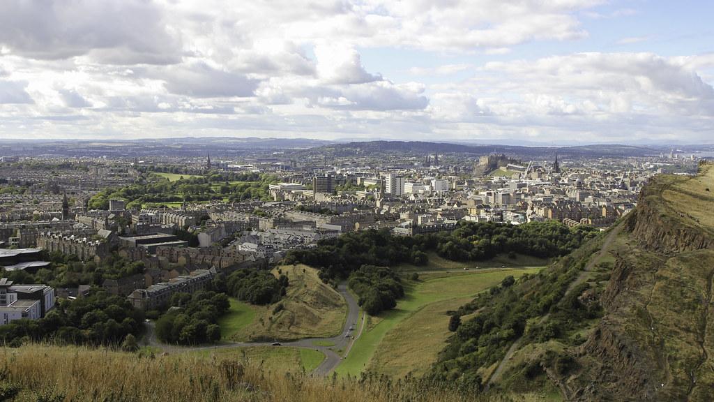 Edinburgh from Arthurs Seat