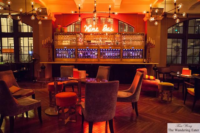 Interior near the Wine Bar