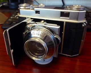 "My ""New"" Kodak Retina IIa."