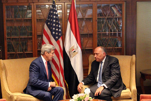 Secretary Kerry Meets With Egyptian Foreign Minister Shoukry | by U.S. Department of State
