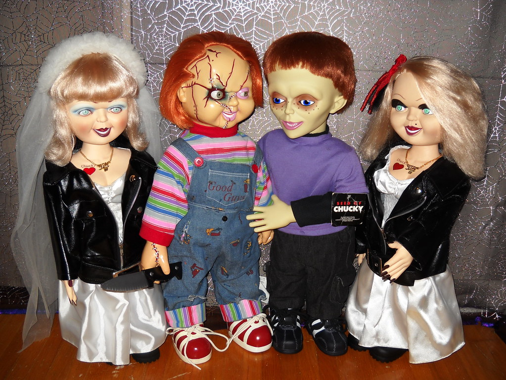 """24"""" Chucky Dolls, Animated Chucky Doll, Tiffany Ray Doll ..."""