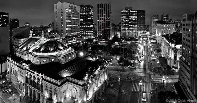 Sao Paulo Downtown - Chá Viaduct and its surroundings
