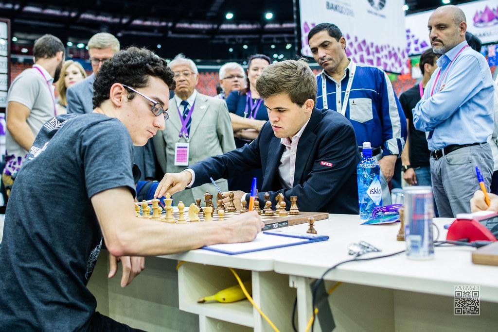 Caruana Fabiano vs Carlsen Magnus-2 | ANDREAS KONTOKANIS | Andreas Kontokanis | Flickr