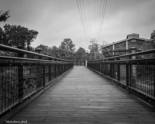 walkingbridge pointofview bw blackwhite nikon