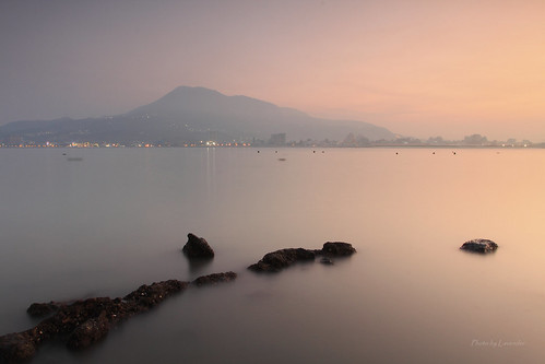 夕陽 觀音山 油車口 沙崙 淡水 新北市 台灣 taiwan sunset goldenhour