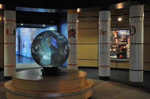3' Magic Planet - ACC Hall of Champions, Greensboro, NC | by Global Imagination