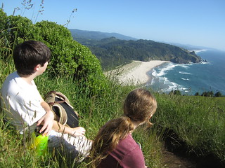 Visitors at Cascade Head Trail | by marinereserves