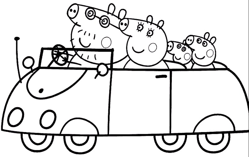 Peppa Colorir Desenhos Do Peppa Pig Para Colorir Pintar I Flickr
