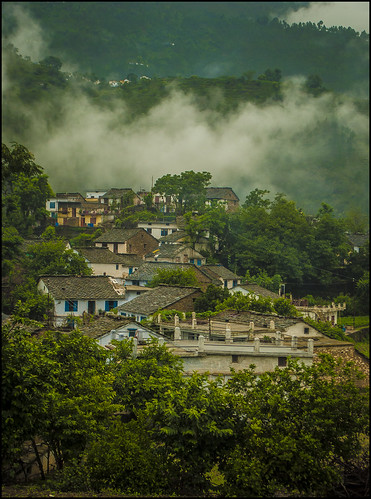 morning nature beauty landscape dawn twilight monsoon himalayas ranikhet kumaun sivaliks siwaliks