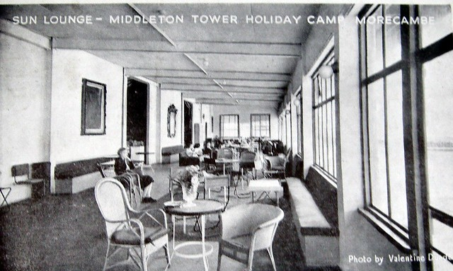 Middleton Tower holiday camp, Sun lounge