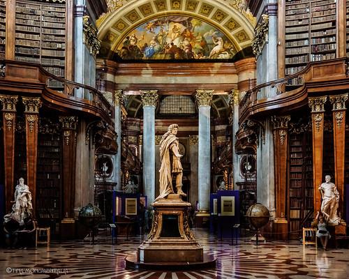 Austria - Vienna - National Library-03.jpg   by Tine van Voorst