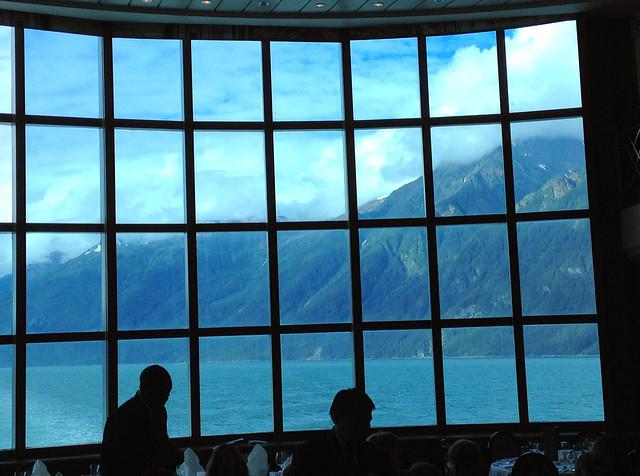 Alaska from the Dinning Room