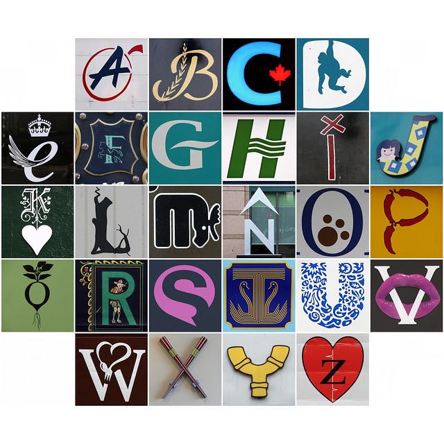 Alphabet 50