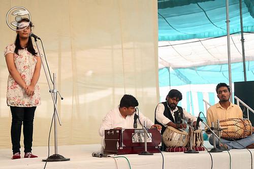 Devotional song by Samipta from Ludhiana, Punjab