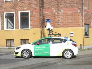 Google Street View in Horsens (2014-07-30)