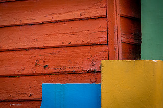 detail of colourful house in La Boca neighborhood - Buenos Aires   by Phil Marion