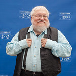George R R Martin at the Edinburgh International Book Festival |
