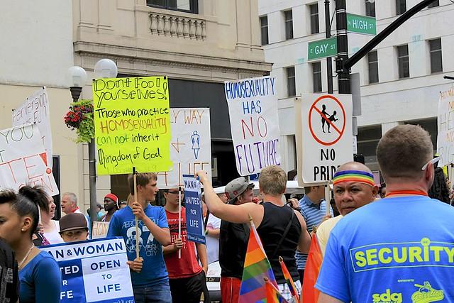 Parade Protestors