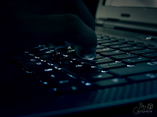 Typing on Laptop | by theglobalpanorama