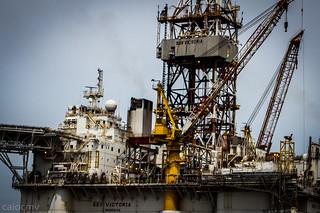 Plataforma de petróleo | by Caio César Viana