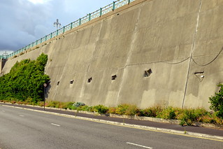 Madeira Drive Green wall