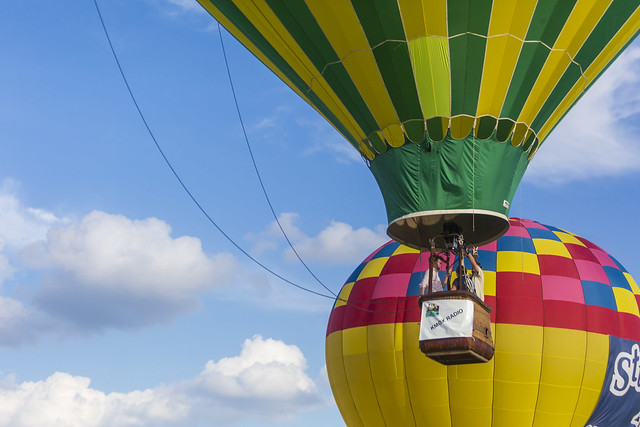 The KMOX balloon launching