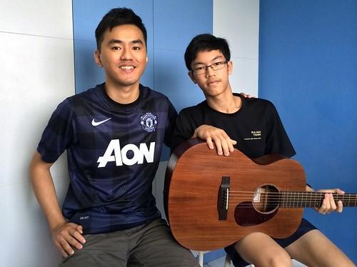 Beginner guitar lessons Singapore Joel