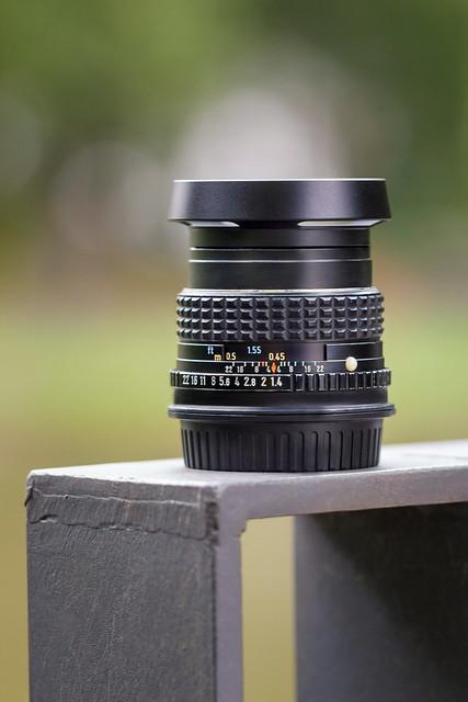 smc PENTAX-M 50mm ƒ/1.4
