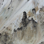 Formations in Grand Canyon of the Yellowstone