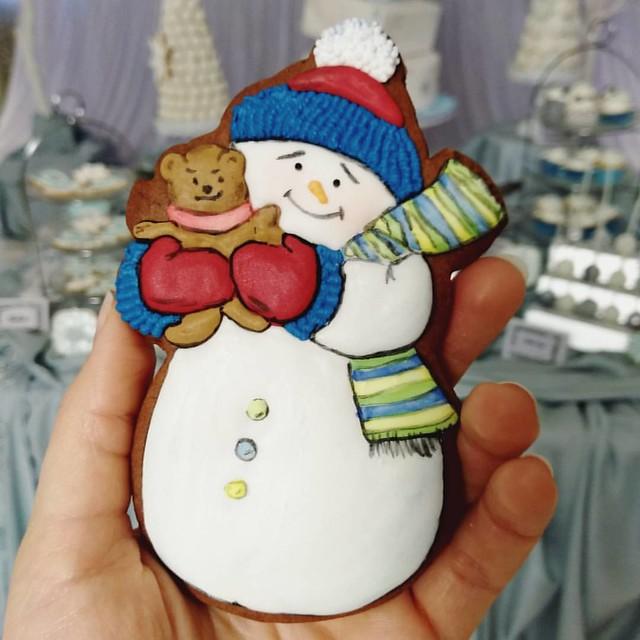 So ein süßes #Snowman kann man zu #Weihnachten bestellen