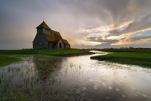 church sunrise kent nikon marsh tamron fairfield romney waterreflections stthomasàbecket leefilters dodgingrain dodgingsheeppoo