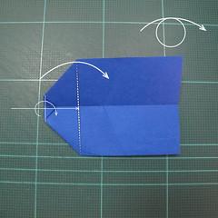 วิธีการพับกระดาษเป็นรูปกระต่าย แบบของเอ็ดวิน คอรี่ (Origami Rabbit)  015
