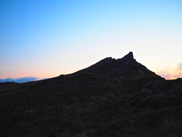 Sunrise at the Roaches no1