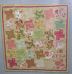 Fresh Cut baby quilt. For Baby Mikkelson