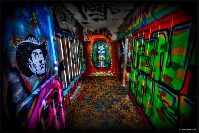 Graffiti House Christchurch - Muerte