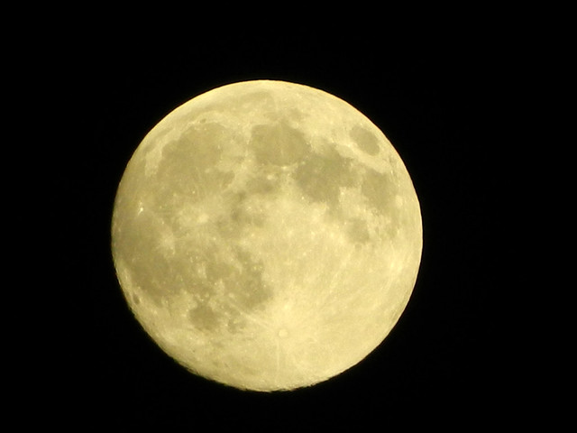 The bright and amazing Supermoon August 10, 2014