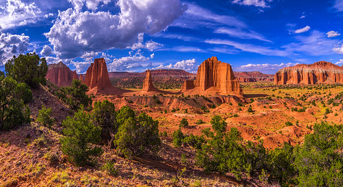 Cathedral Valley Capitol Reef National Park, Utah | by PhotoOutpost (Rex Biggers)