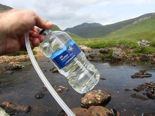 First filled by Sainsburys, then many times (through a filter) from Scottish mountain rivers | by Guy R