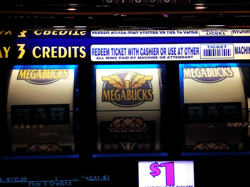 Megabucks slot machine