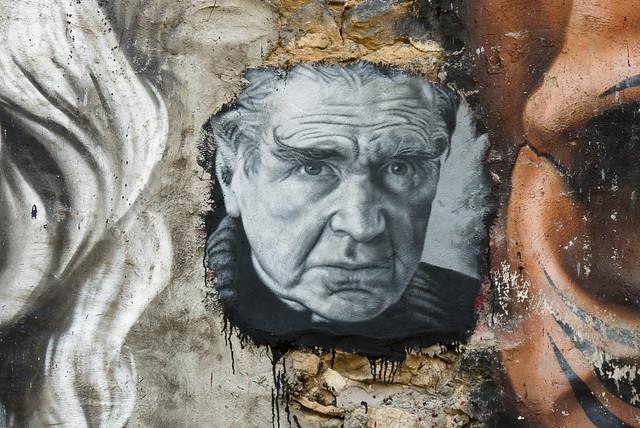 Emil Cioran, painted portrait _1040532