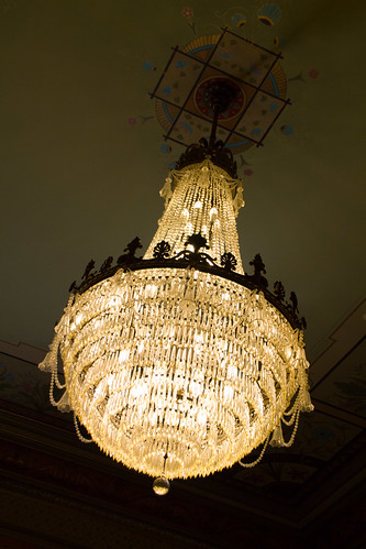 Chandelier in the Governor's Office