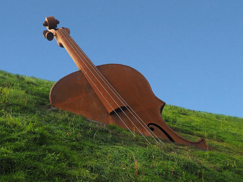 The Violin by Alex Pentek