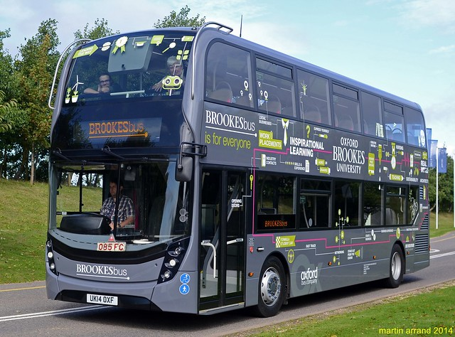 UK14OXF oxford bus company