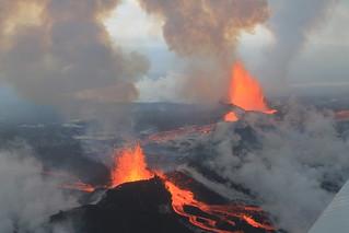 Bárðarbunga Volcano, September 4 2014 | by peterhartree