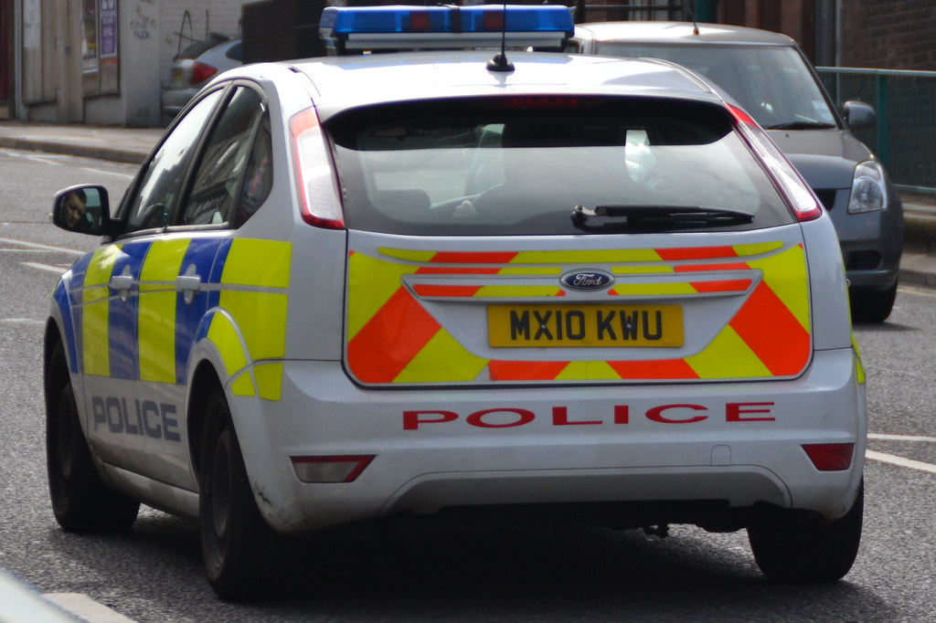 Greater Manchester Police Ford Focus Response Car MX10 KWU
