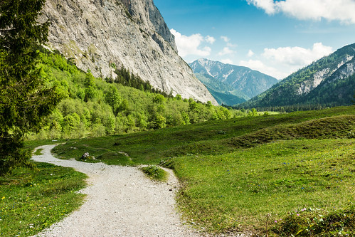 alps austria österreich himmel wolken berge alpen weg achensee pertisau gramaialm