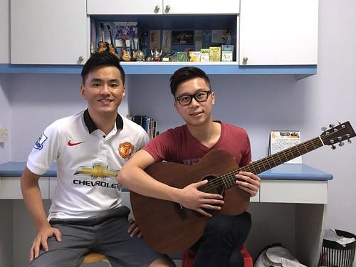 Adult guitar lessons Singapore Bryant