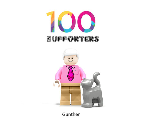 100 - gunther | by Afol minifigures collector