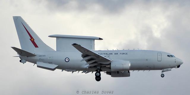 E-7A Wedgetail A30-005 2 Sqn/ R Australian AF